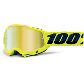 100% Accuri Anti-Fog Goggles Gen2 fluo yellow/mirror